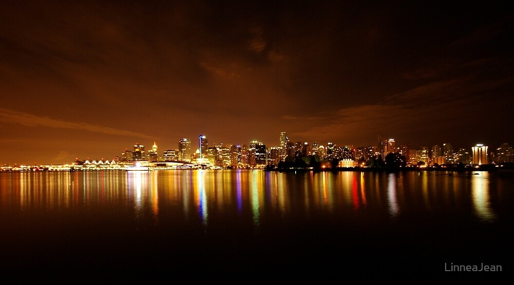 Vancouver View by LinneaJean