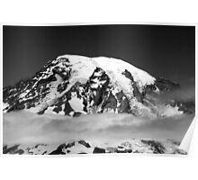 """Mt. Rainier"" Poster"