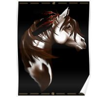 Feathered Horse Poster