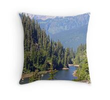 The North Cascades Throw Pillow