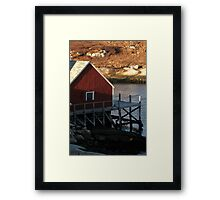 Sittin' At The Dock Of The Bay Framed Print