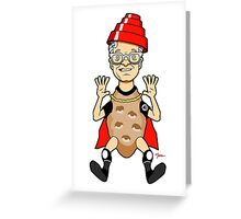 Flying Spud Greeting Card