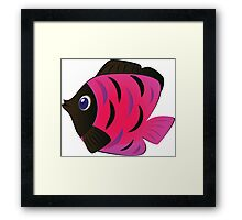 Colorful fish 4 Framed Print