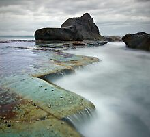 Forresters Beach Study # 6 by Brent Pearson