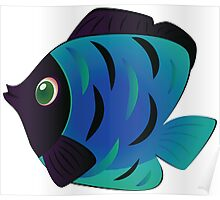 Colorful fish 5 Poster