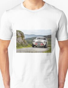 The Three Castles Welsh Trial - Austen Healey - Photo Max Earey T-Shirt