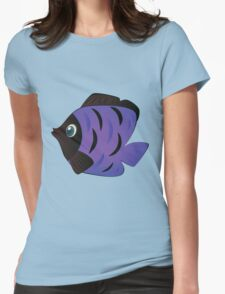 Colorful fish 6 Womens Fitted T-Shirt