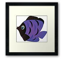 Colorful fish 6 Framed Print