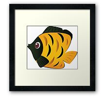 Colorful fish 7 Framed Print
