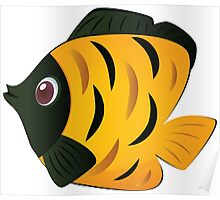 Colorful fish 7 Poster