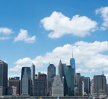 Manhattan Skyline by Madilation