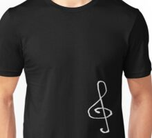 Treble Clef- White T-Shirt