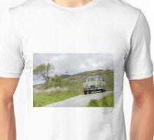 The Three Castles Welsh Trial - Triumph TR3A - Photo Max Earey Unisex T-Shirt