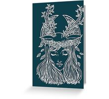 The Forest Princess Greeting Card