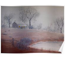 One Foggy Morn-Painting Poster