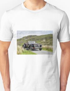 The Three Castles Welsh Trial - Alvis - Photo Max Earey T-Shirt