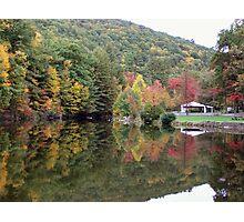 Autumn at Lykens Glen Park Photographic Print