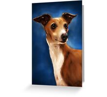 Magnifico - Italian Greyhound Greeting Card