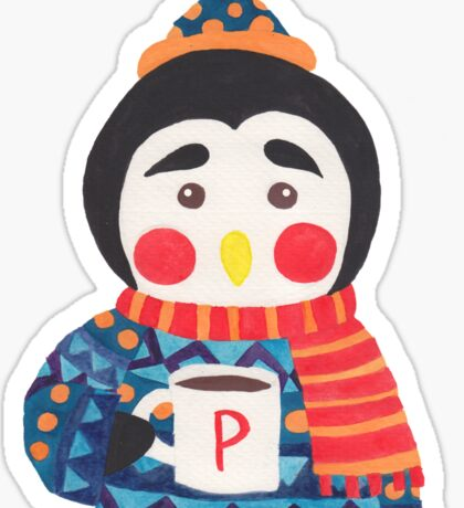 Winter Season is Coming (Penguin Edition) Sticker