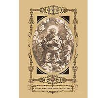 Saint Matthew The Evangelist Photographic Print