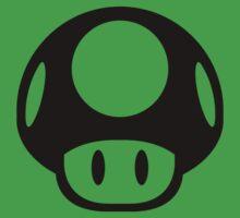 Super Mario Bros. Symbol - Super Smash Bros. (black) Kids Tee