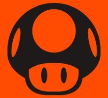 Super Mario Bros. Symbol - Super Smash Bros. (black) T-Shirt