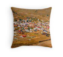 """""""Silverton Colorado"""" Throw Pillow"""