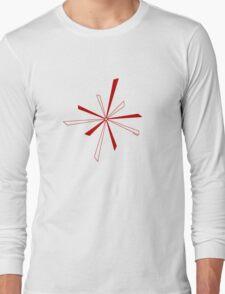 Seko designs 7 Colour Me Red Long Sleeve T-Shirt