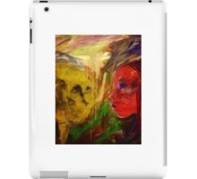 Figurative expressionist painting iPad Case/Skin