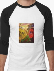 Figurative expressionist painting Men's Baseball ¾ T-Shirt