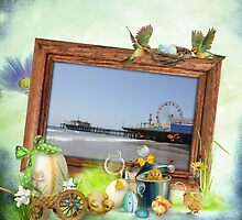 Easter and Spring Santa Monica Pier by stine1