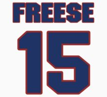 National baseball player George Freese jersey 15 by imsport