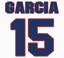 National baseball player Jesse Garcia jersey 15 by imsport