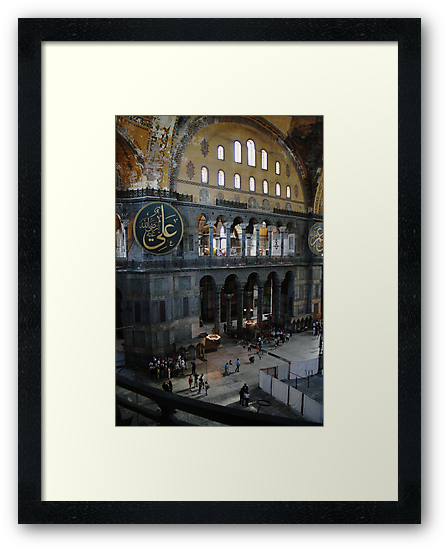 Hagia Sophia: Gallery View by Josh Wentz