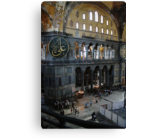 Hagia Sophia: Gallery View Canvas Print