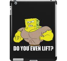 The Sponge Lifts iPad Case/Skin