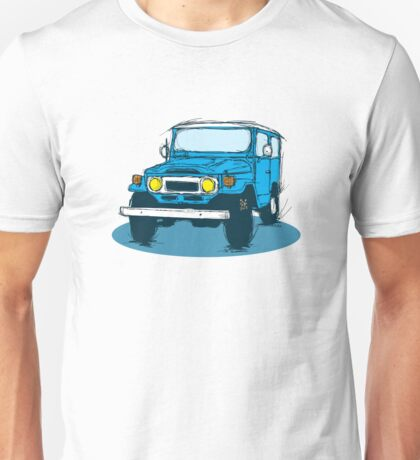 FJ40 Blue Unisex T-Shirt