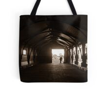 Queenscliff fisherman Tote Bag
