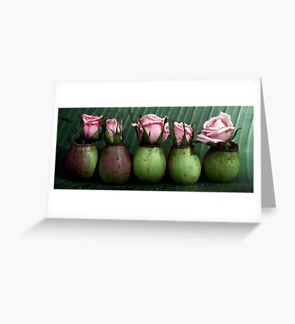 cultivated and wild Greeting Card