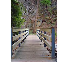 Foot Bridge Photographic Print