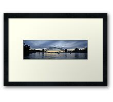 The Coat Hanger - Sydney Harbour Bridge, Sydney Australia Framed Print