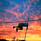 Pole Vault Sunset by BCinMB