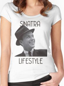 Sinatra Lifestyle Women's Fitted Scoop T-Shirt