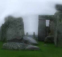 Stormy Stonehenge, Wiltshire, England by CherieHartwell