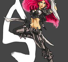 Katarina - League of Legends by kemiemo
