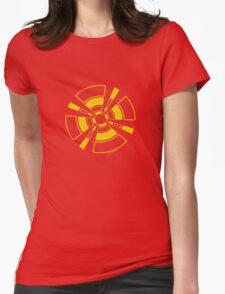 Mandala 24 Yellow Fever Womens Fitted T-Shirt