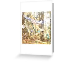 forest fort Greeting Card