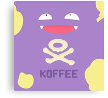KOFFEE Canvas Print