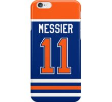 Edmonton Oilers Mark Messier Jersey Back Phone Case iPhone Case/Skin