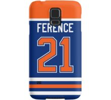 Edmonton Oilers Andrew Ference Jersey Back Phone Case Samsung Galaxy Case/Skin
